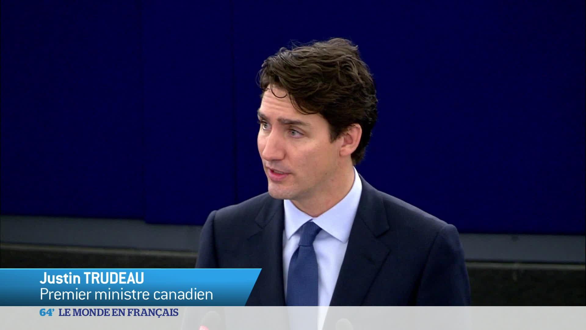 Europe : Justin Trudeau entame un voyage de 4 jours