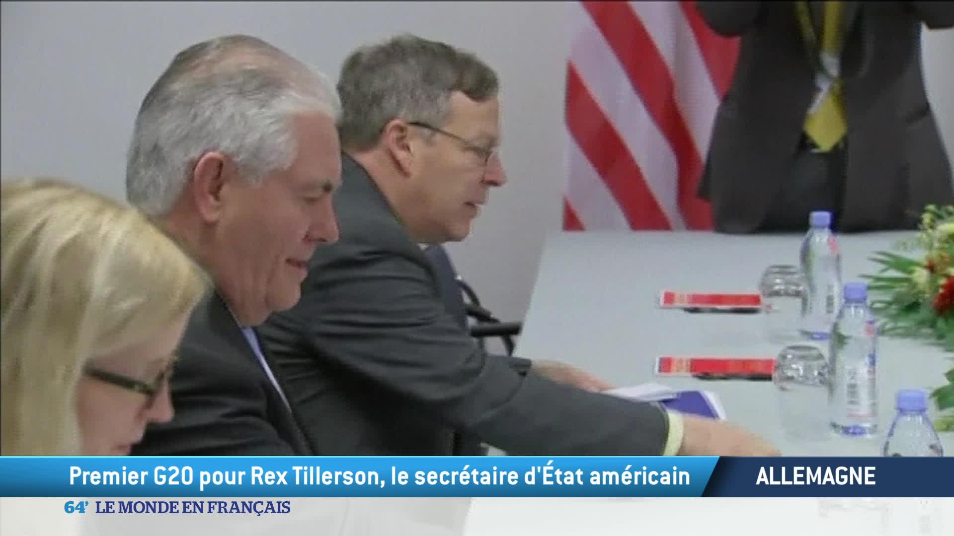 Allemagne : les grands débuts de Rex Tillerson sur la scène internationale