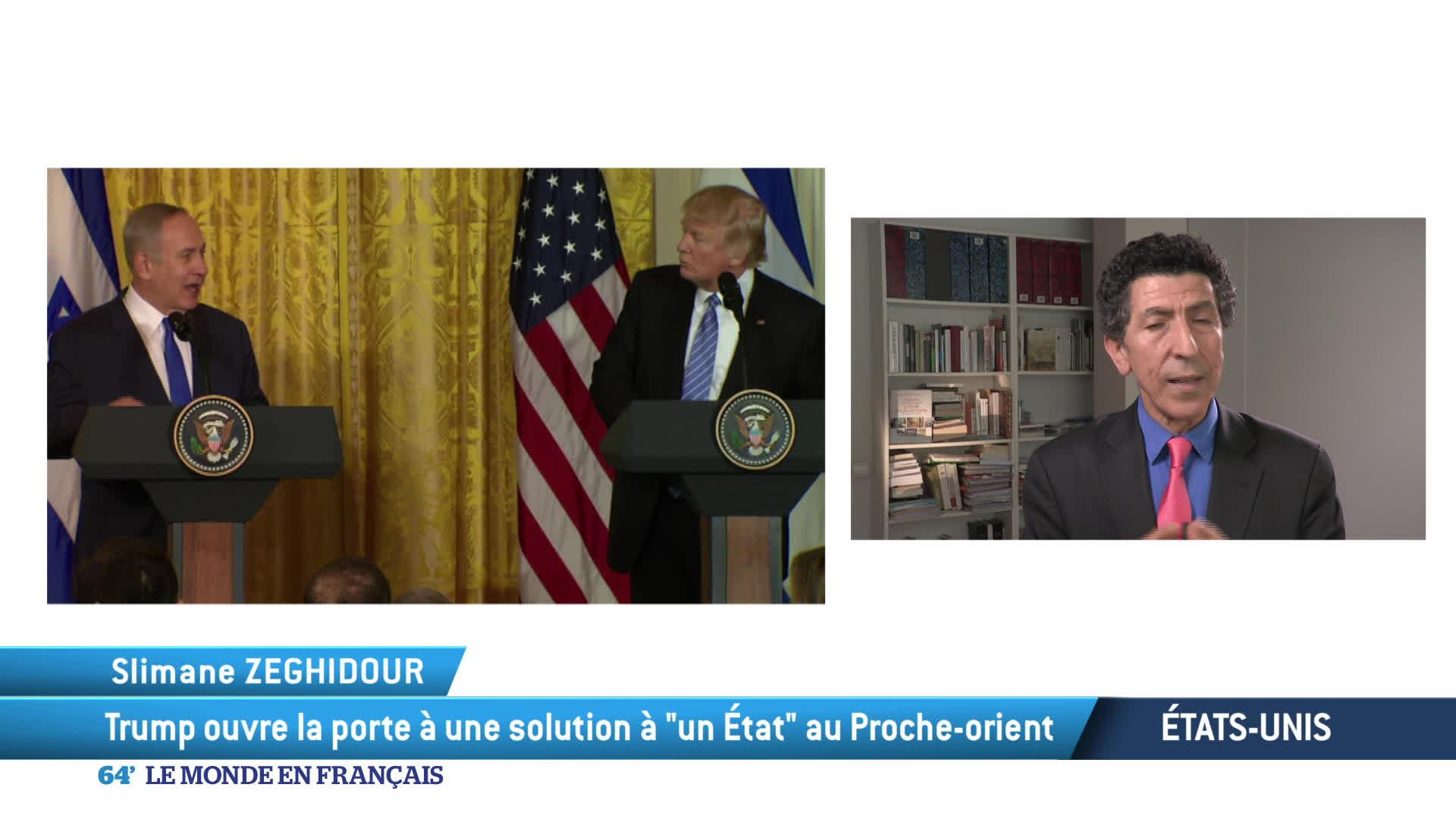 Washington : la rencontre entre Trump et Netanyahu