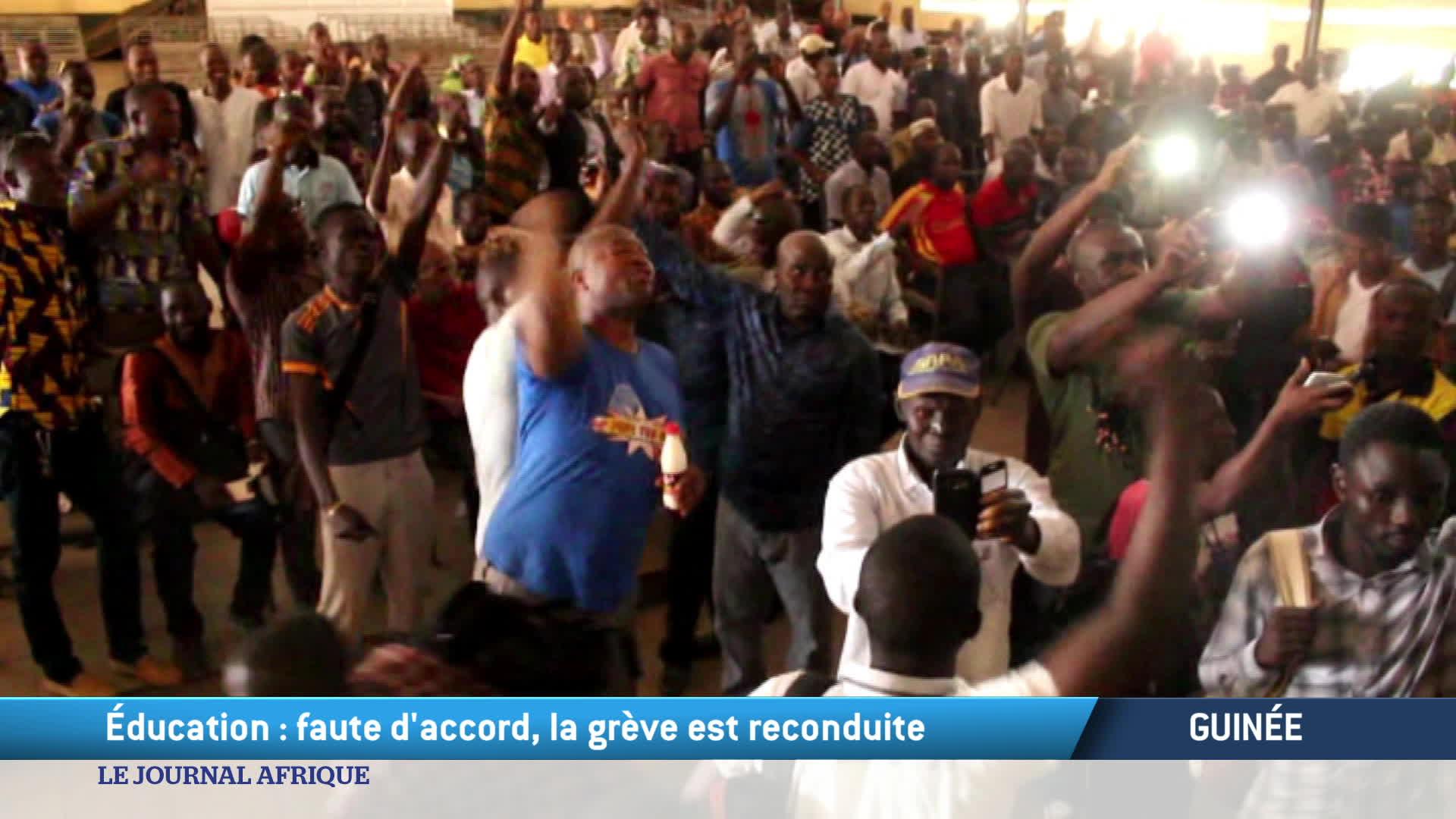 Guinée : la grève des enseignants se poursuit