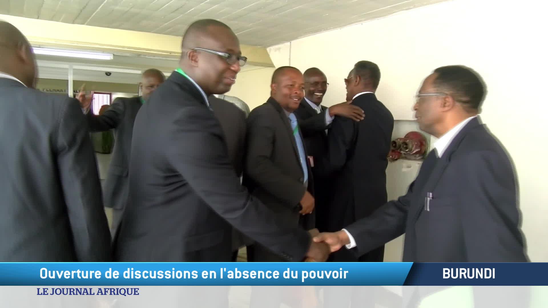 Burundi : le dialogue politique est dans l'impasse après le boycott, annoncé, pa