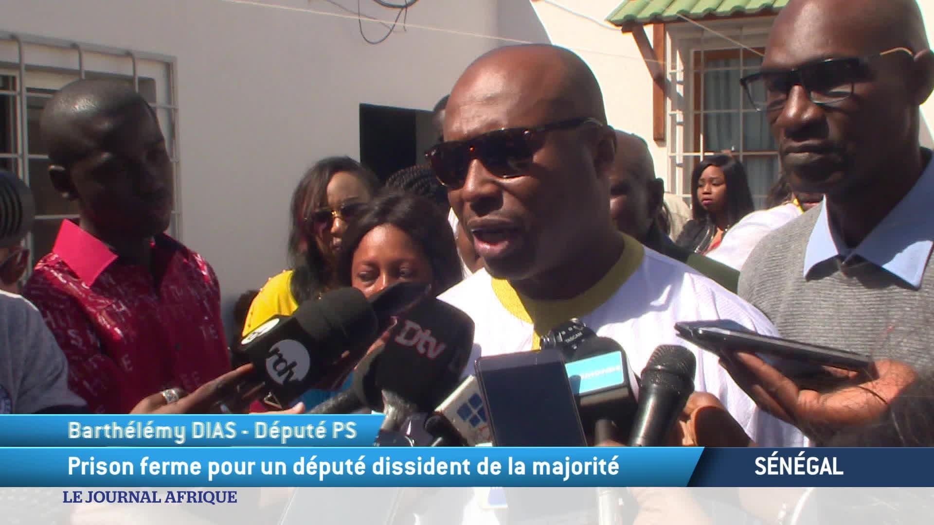 Sénégal :  les partisans de Barthélémy Dias se sont rassemblés après sa condam
