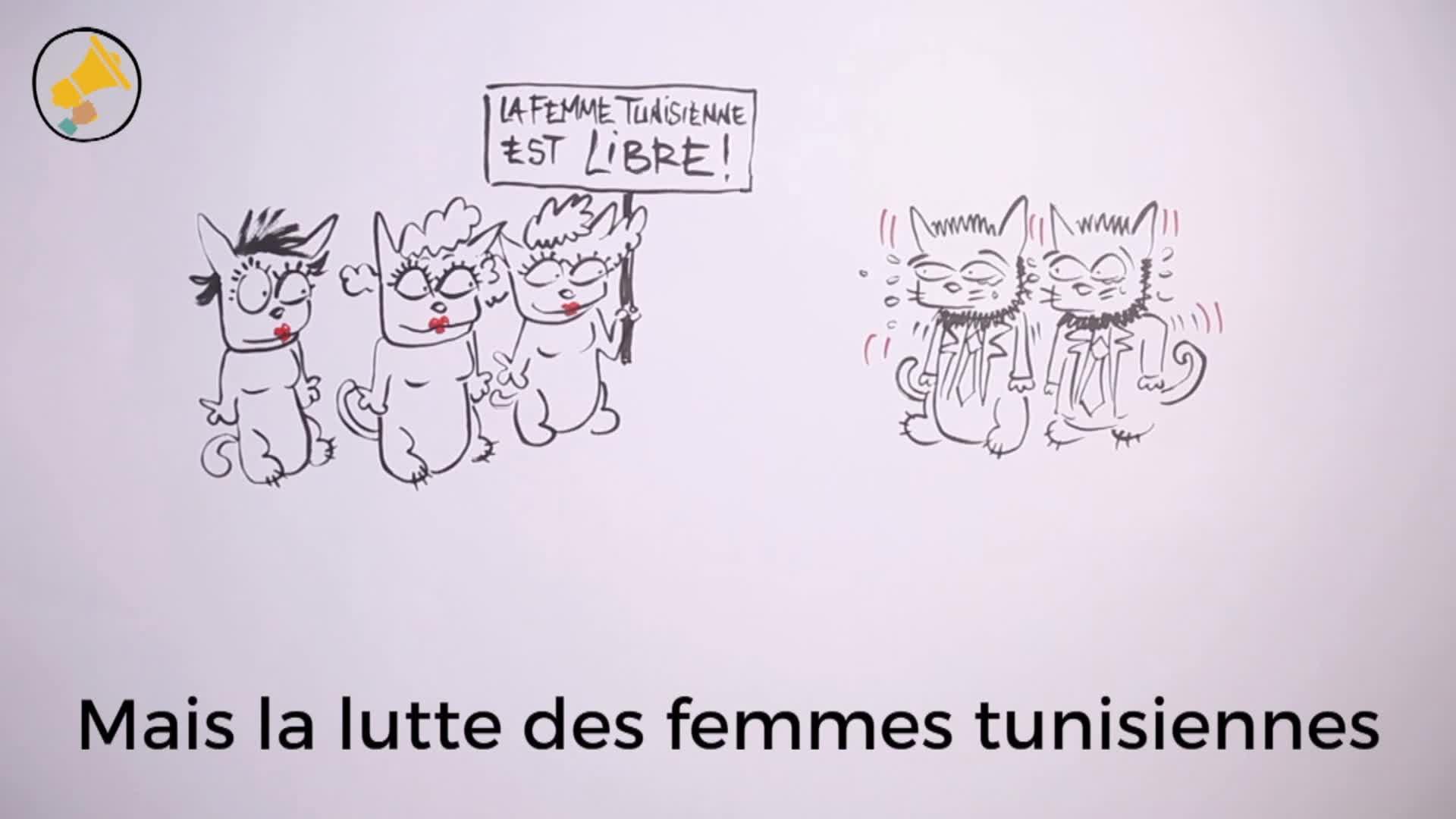 L'infatigable lutte pour les droits des femmes en Tunisie