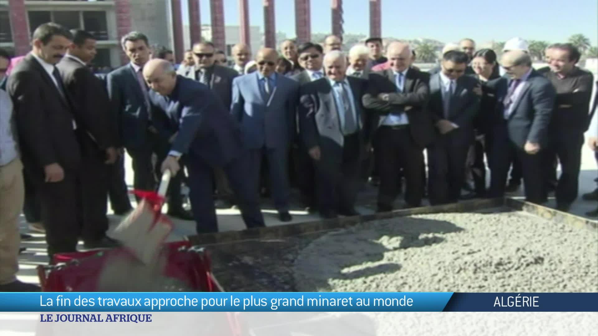 Algérie : la Grande mosquée d'Alger