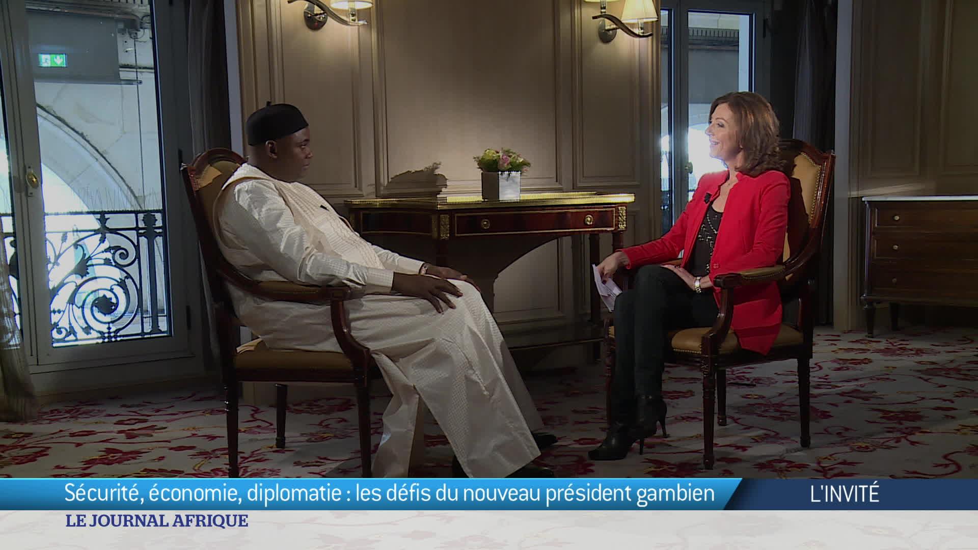 France : la visite d'Adama Barrow à Paris