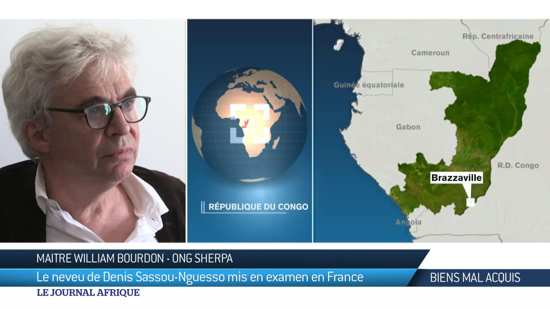 Congo Brazzaville : mise en examen le 9 mars de Wilfrid Nguesso