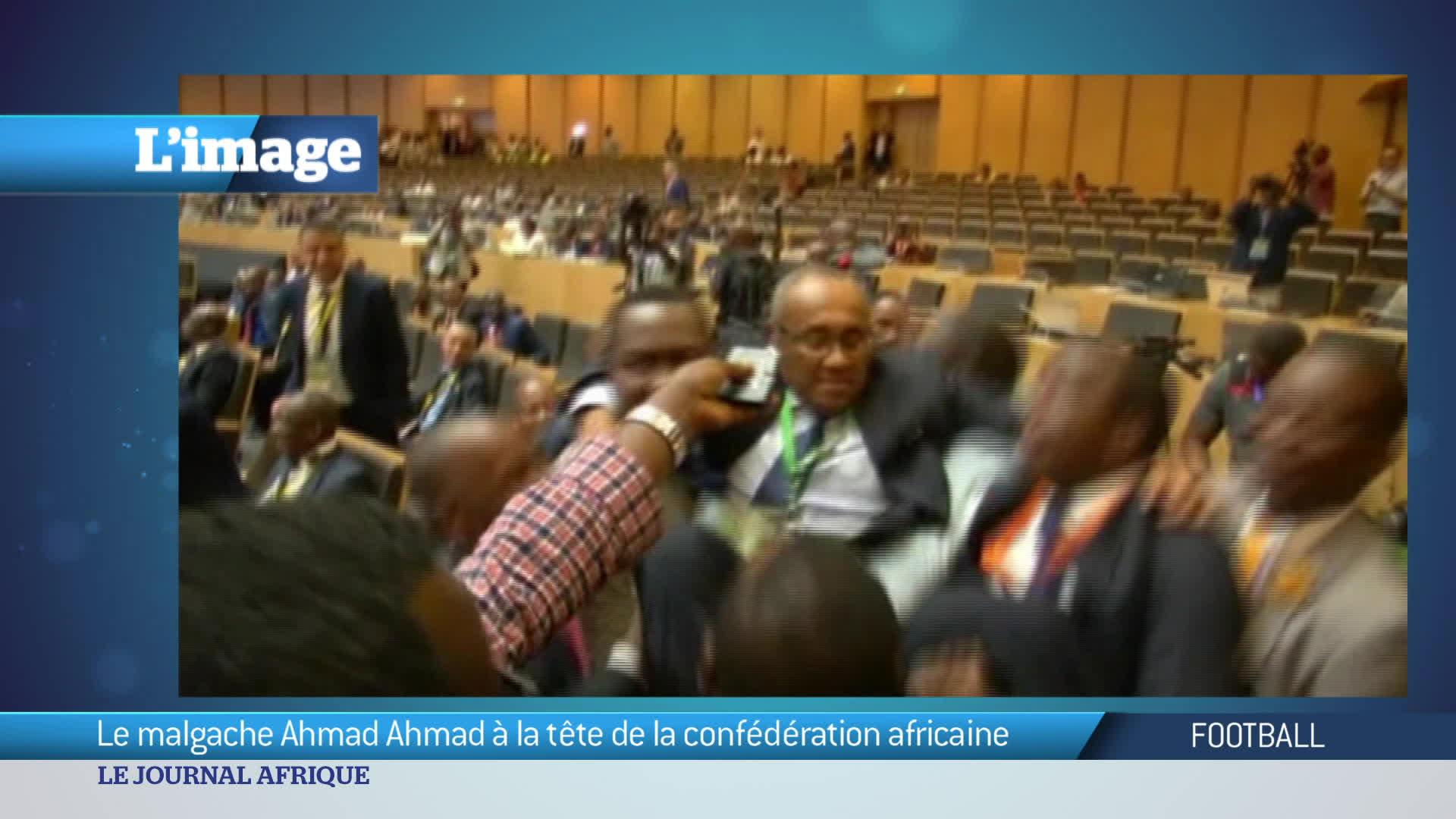 L'Image du jour : Amad Amad, le candidat malgache a été élu président de la CAF!