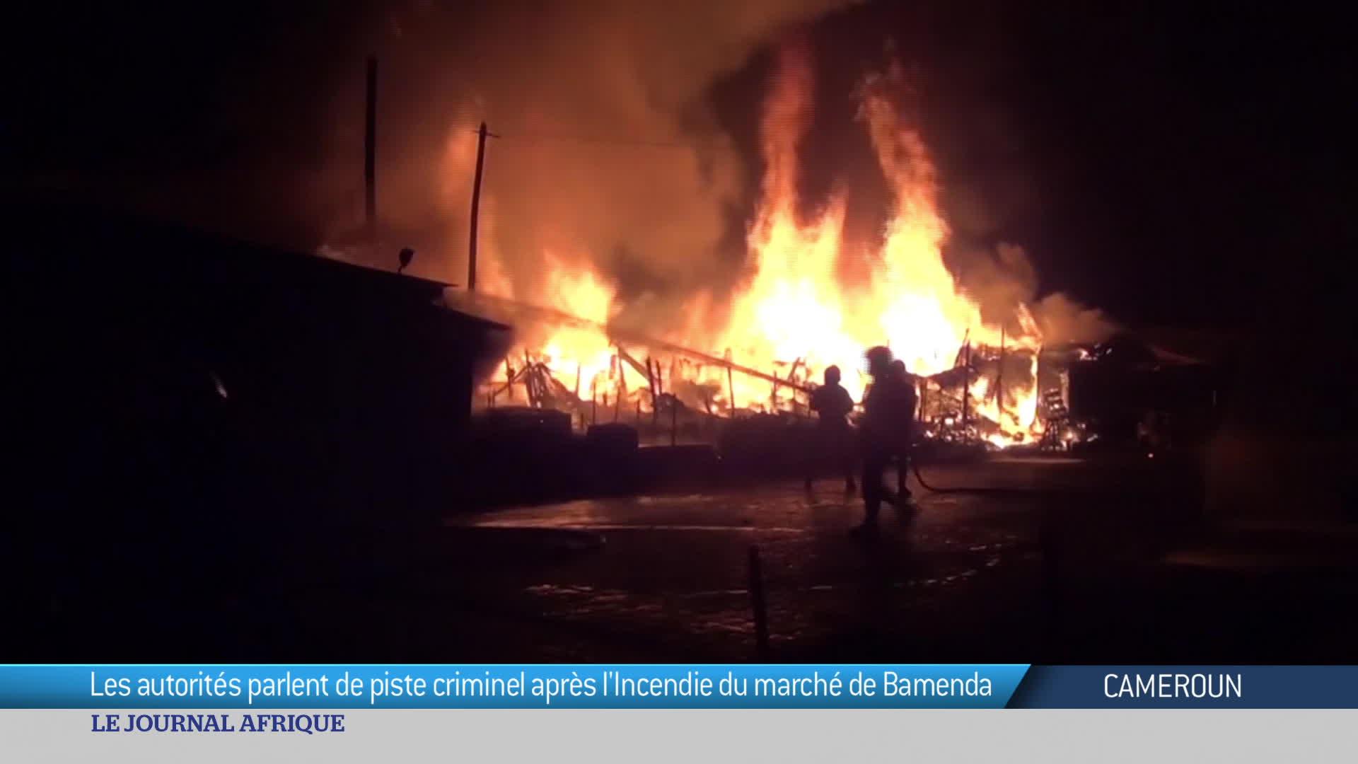 Cameroun : le marché de Bamenda ravagé par un incendie