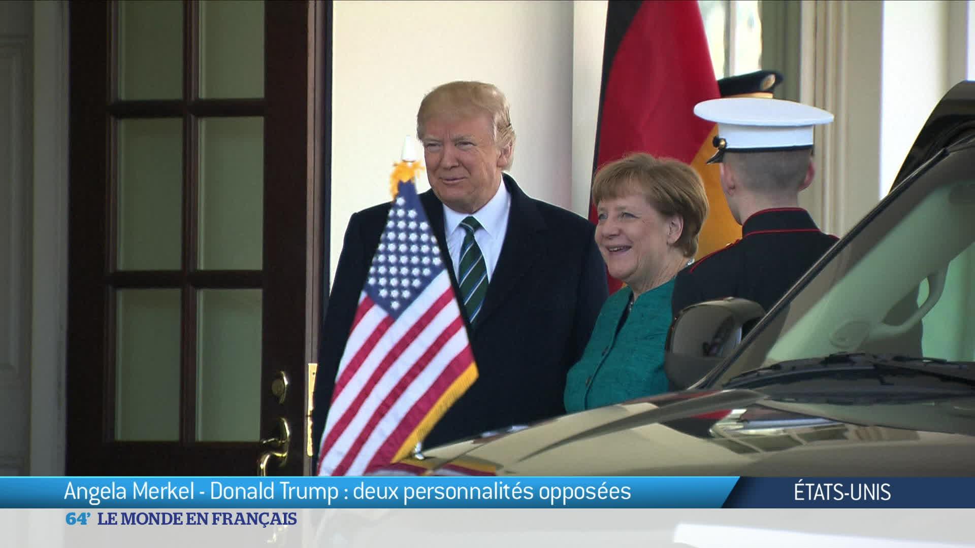Angela Merkel est à Washington