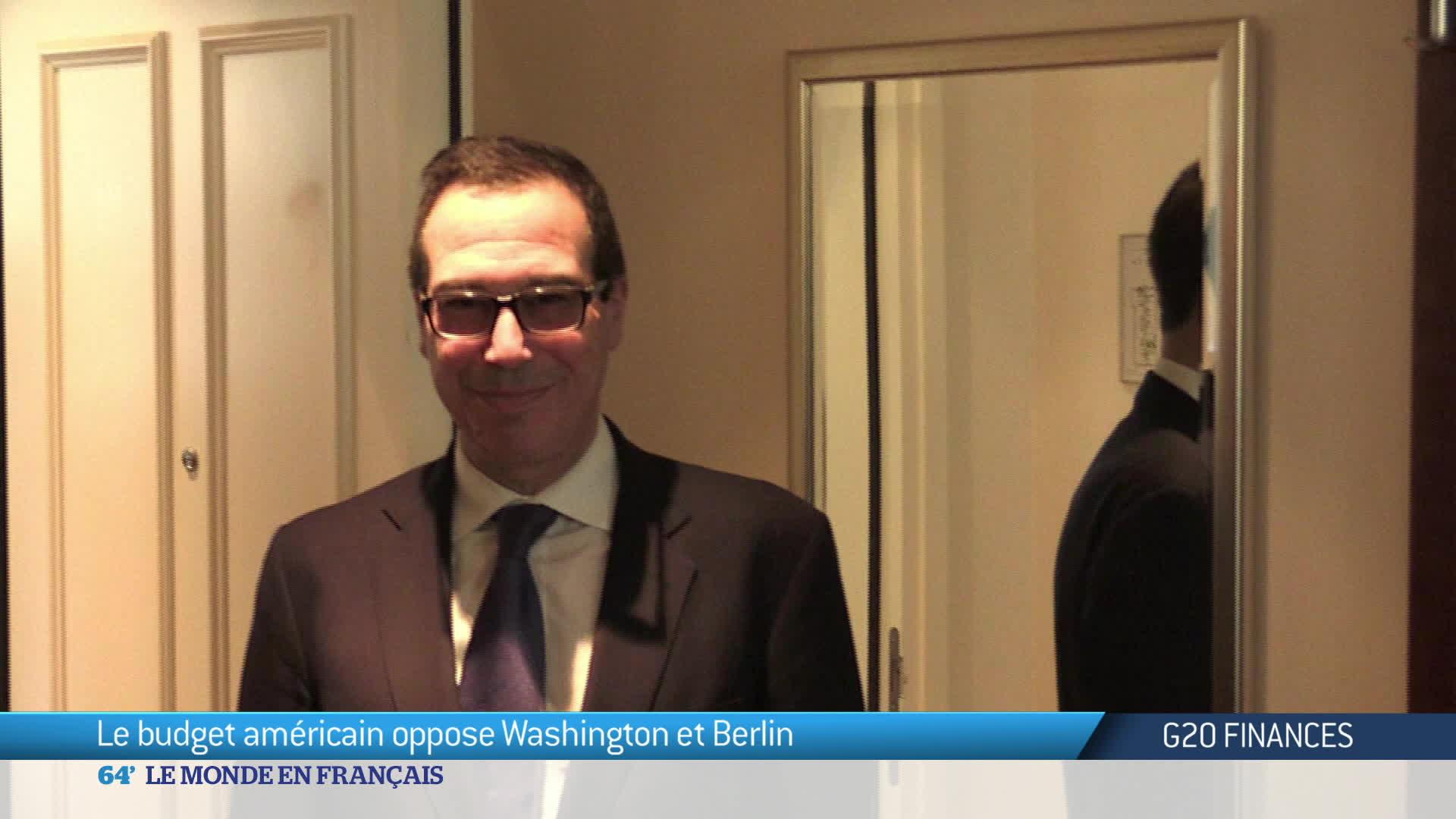 budget américain oppose Washington au G20