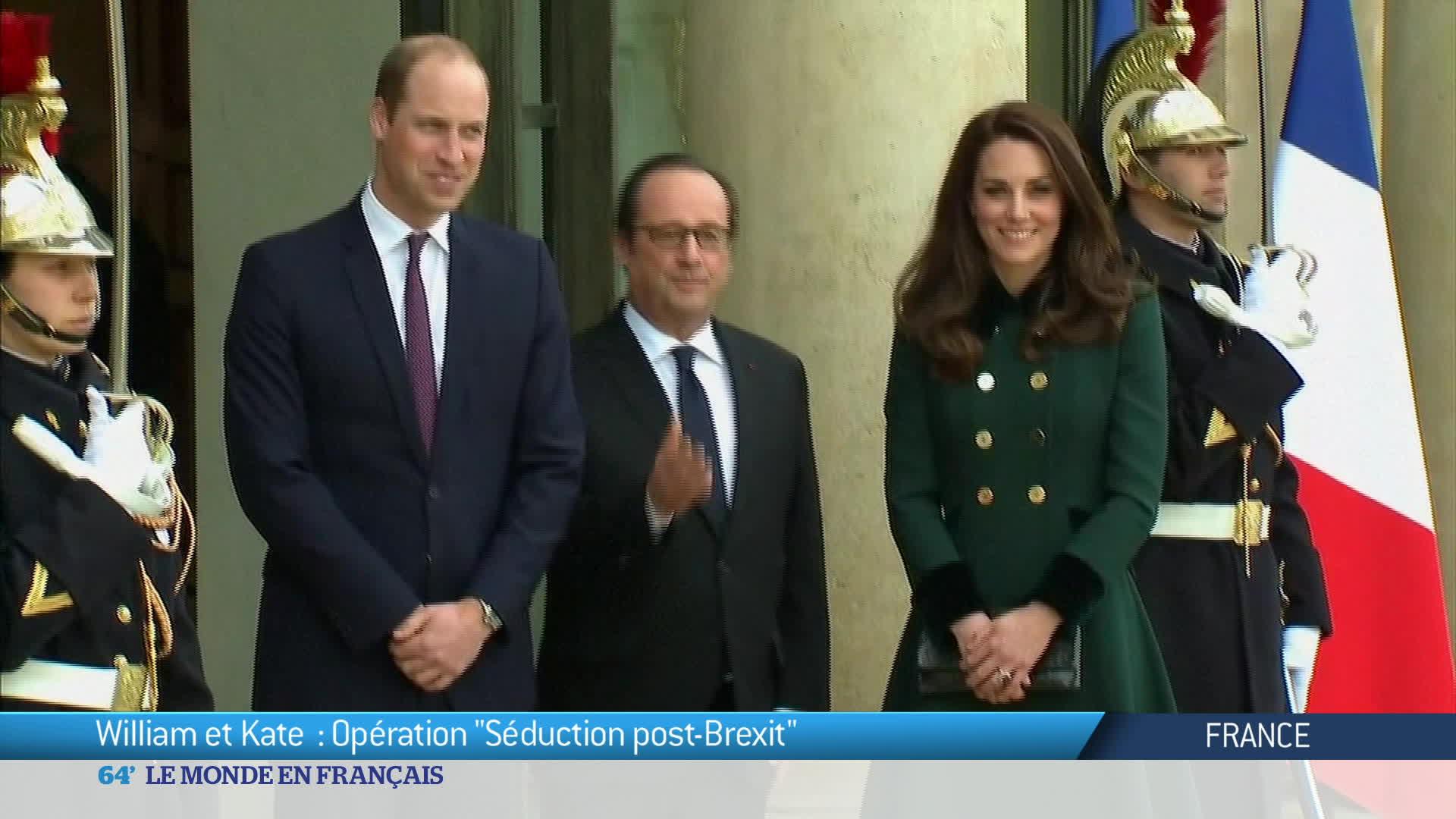 Tournée officielle du Prince William