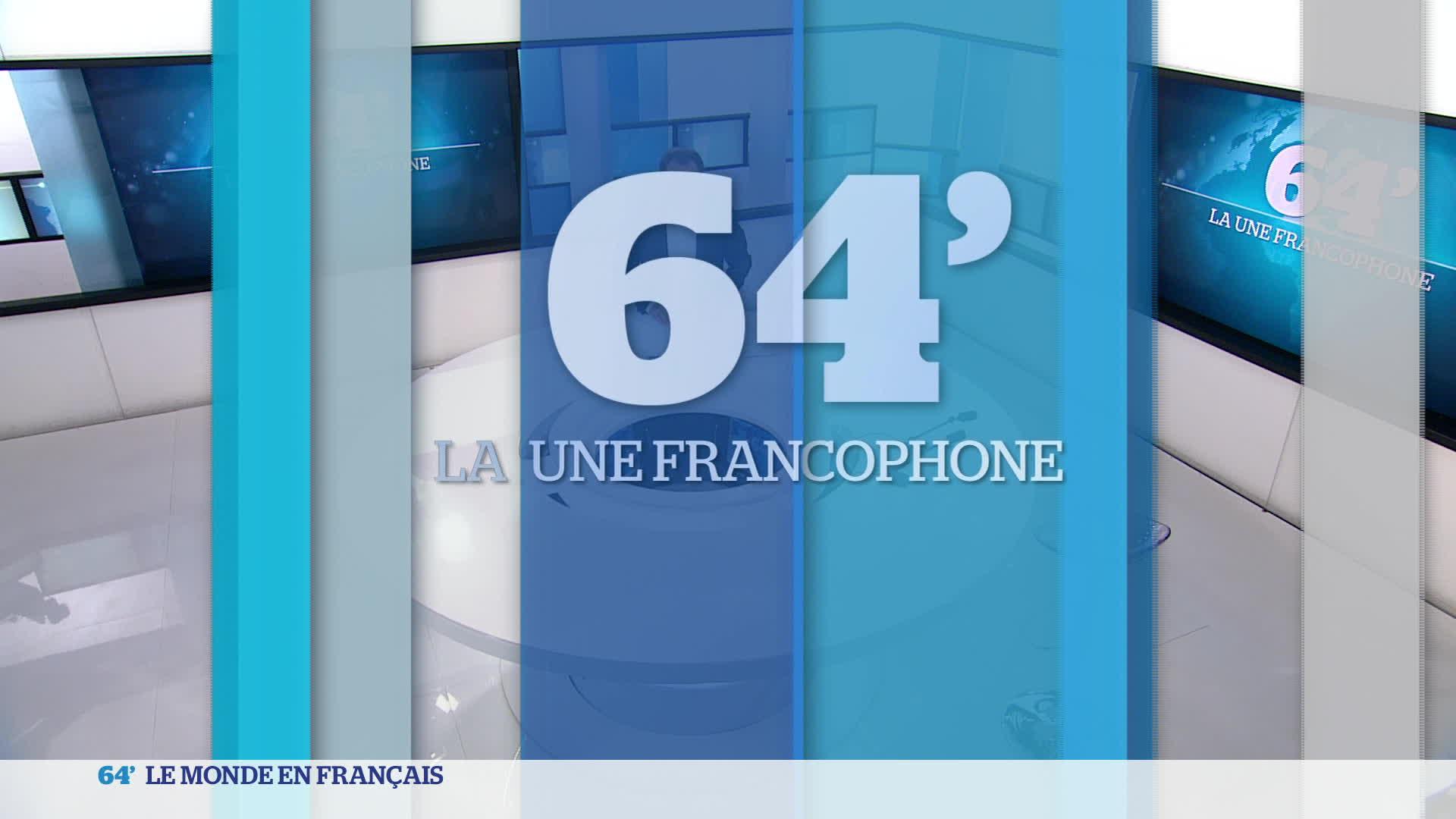 La Une francophone