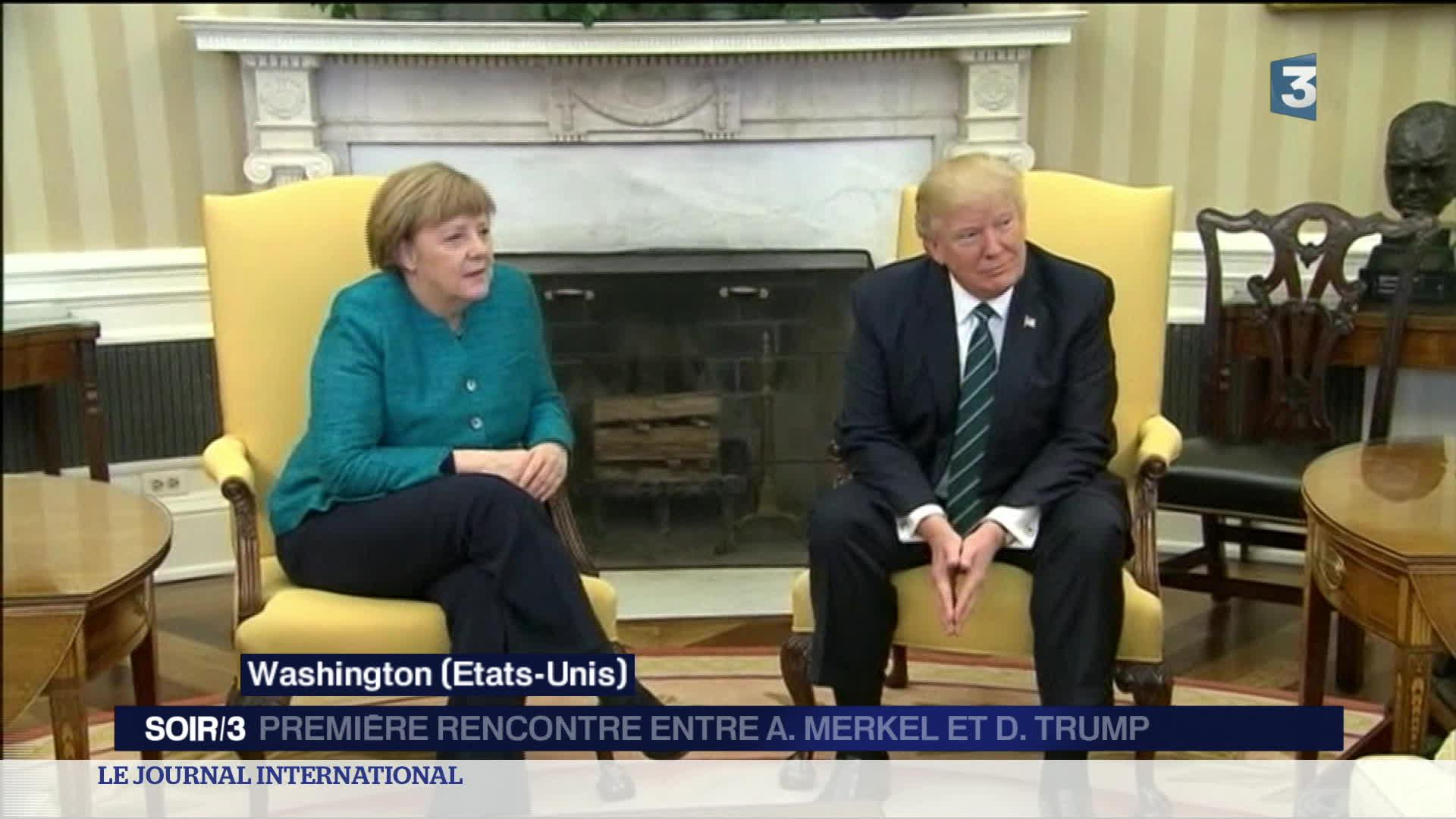 Etats-Unis : Merkel reçue à Washington