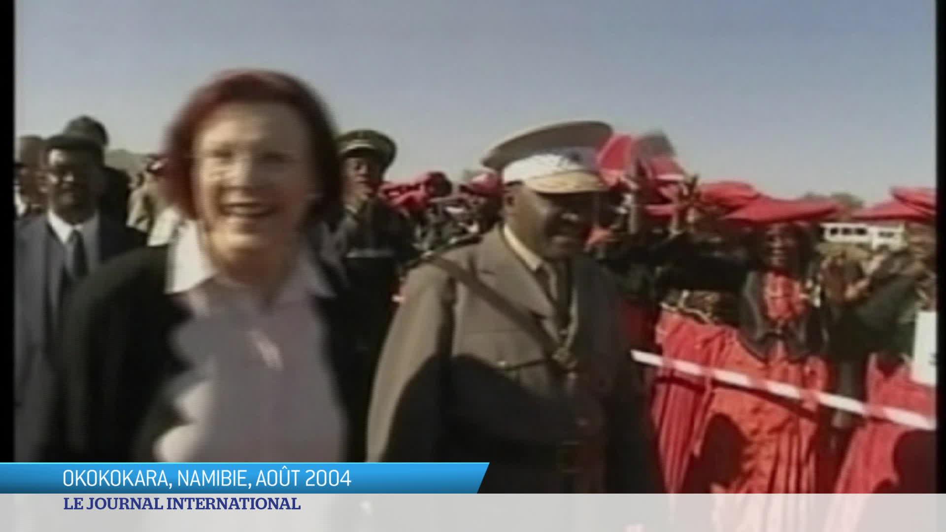 Namibie : demande de réparation pour génocide