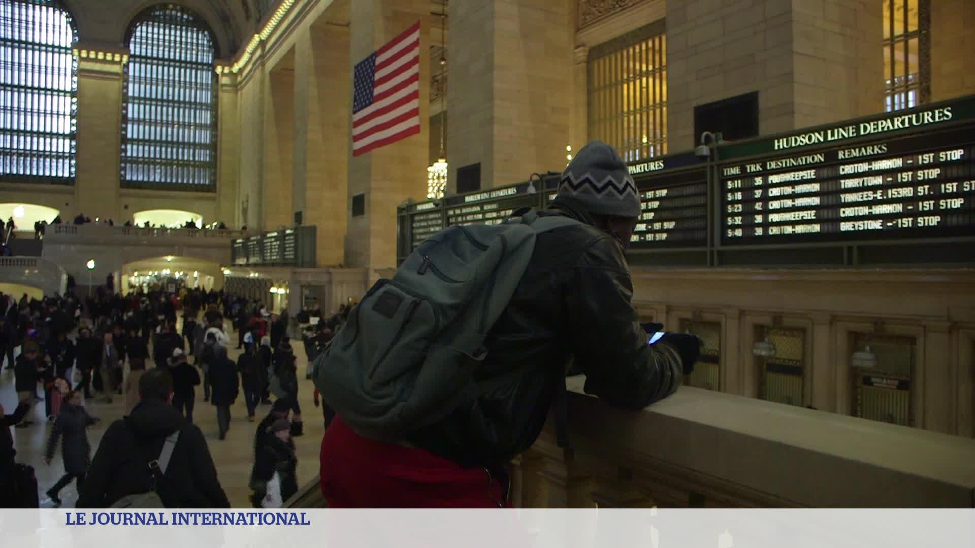 Etats-Unis : migrant à New York