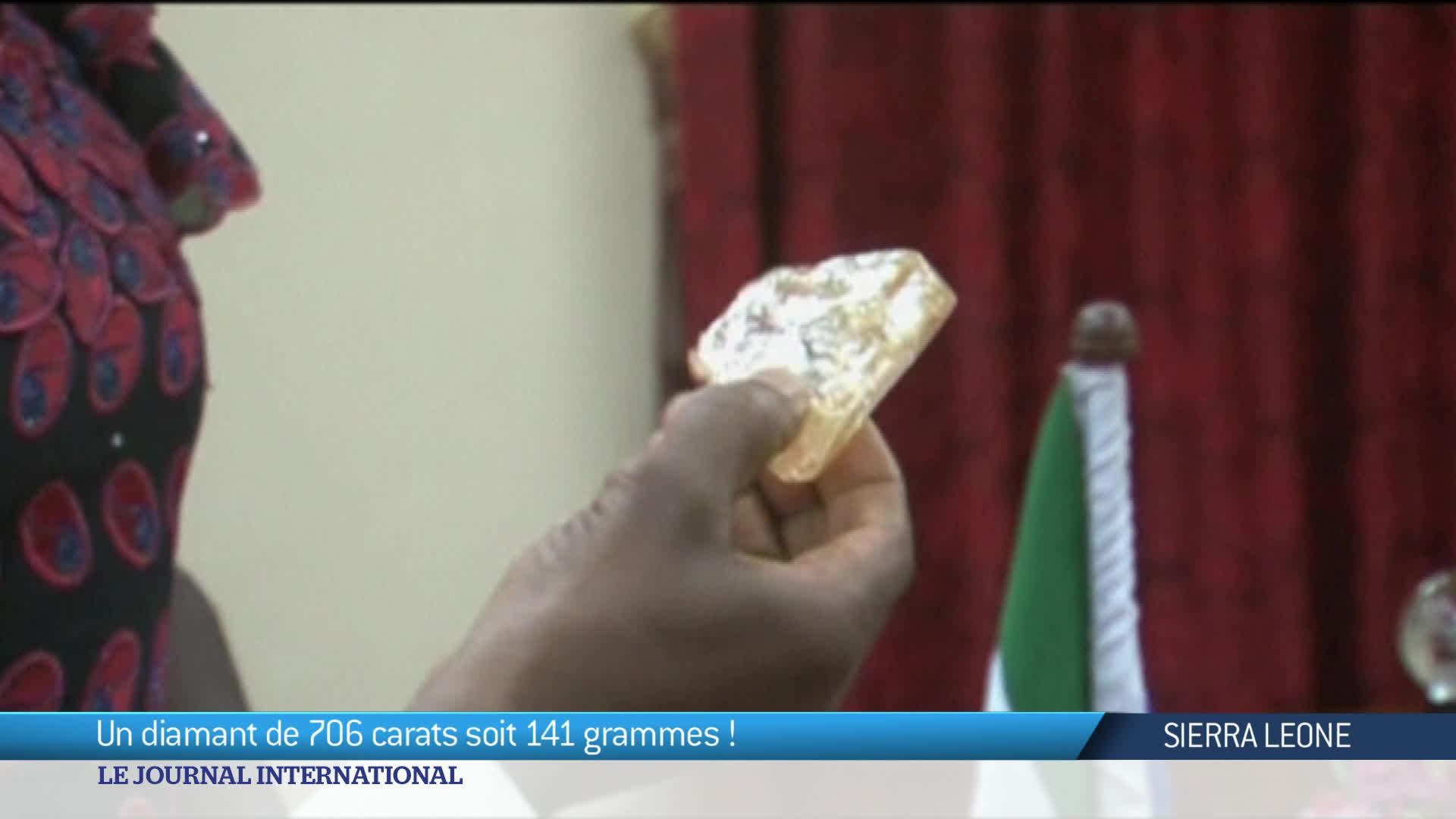Sierra Leone : le plus gros diamant au monde