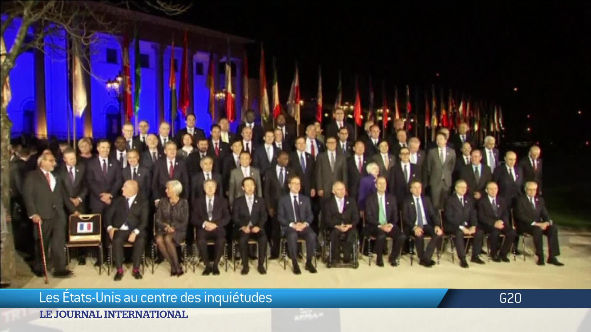 Allemagne : bras de fer avec les Etats-Unis au G20