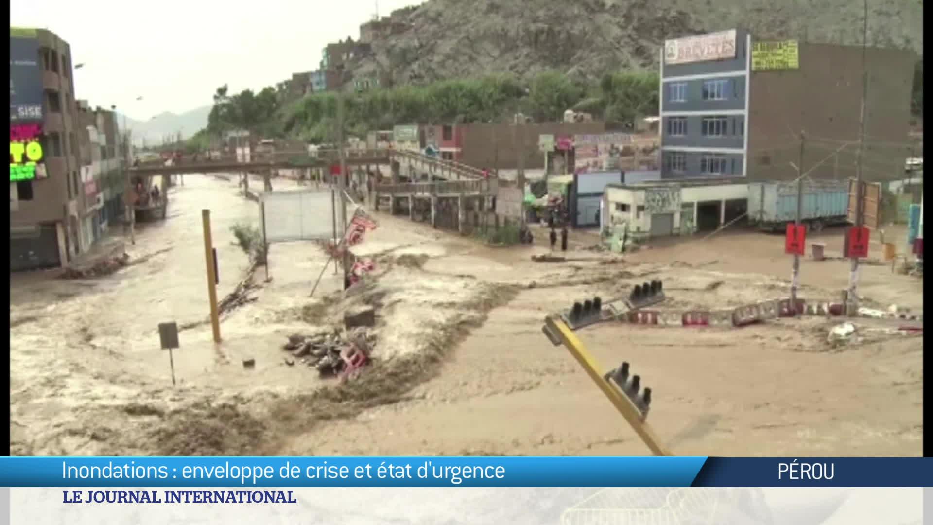 Pérou : inondations mortelles