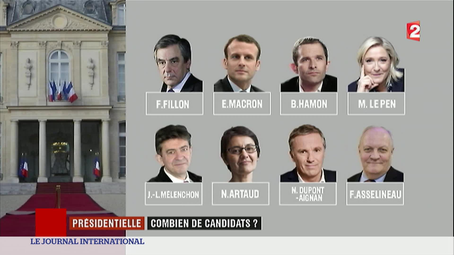 Politique : liste officielle des candidats à la présidentielle