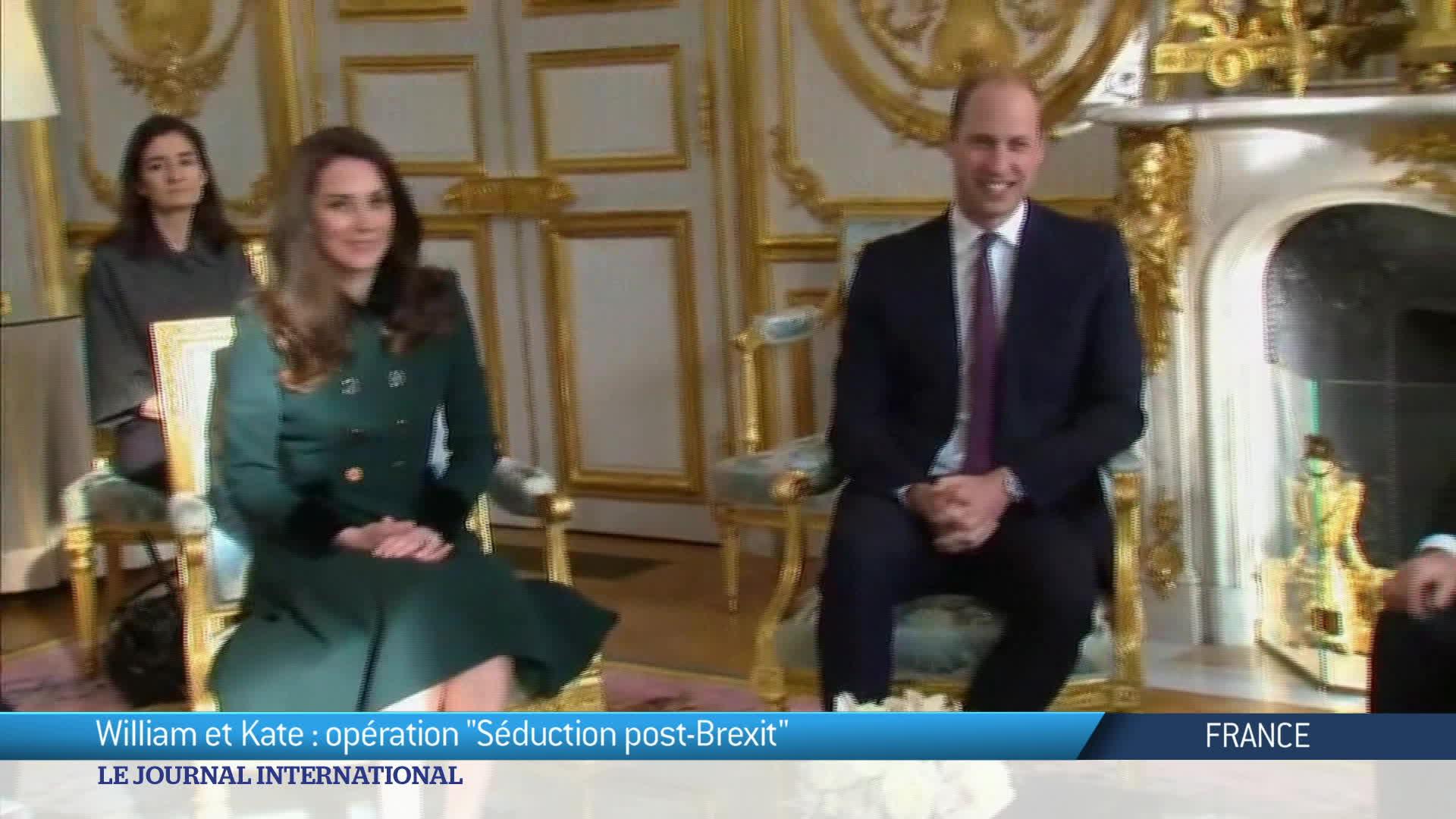 France : visite de William et Kate