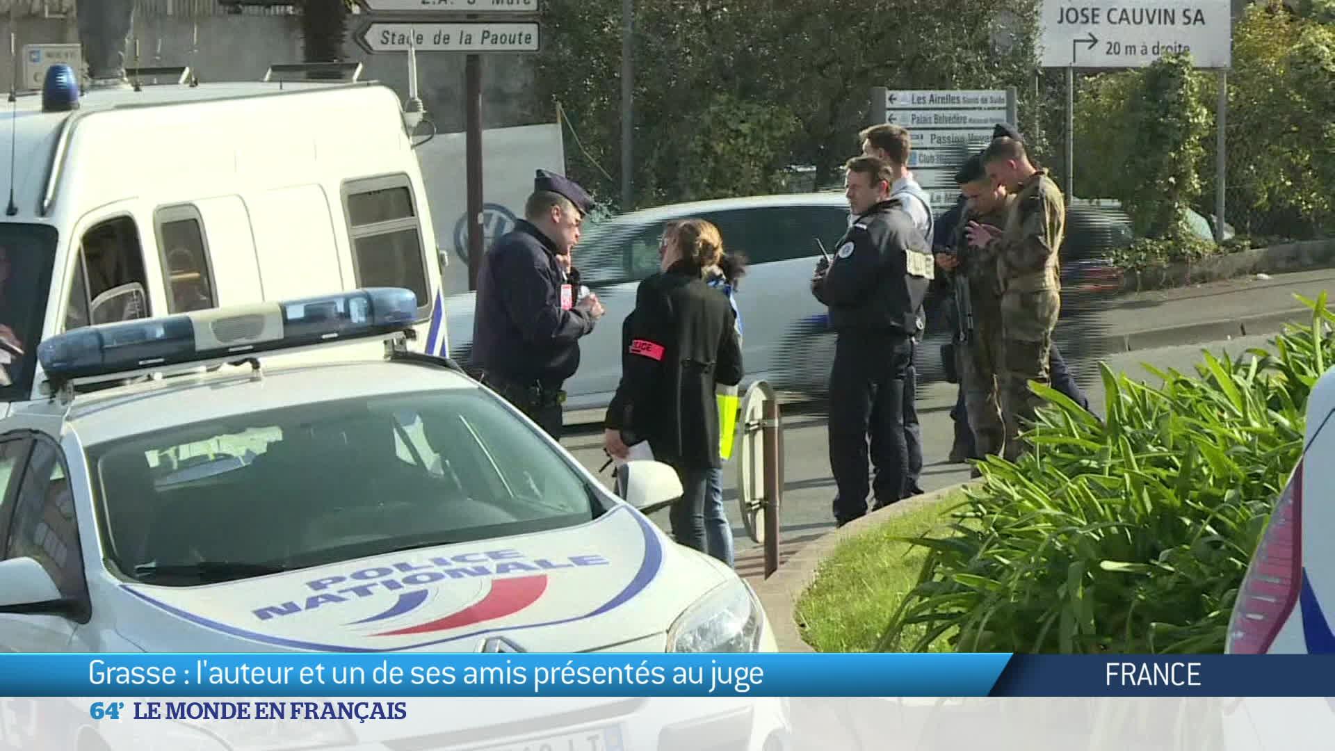 Suite de l'enquête sur la fusillade de Grasse en France
