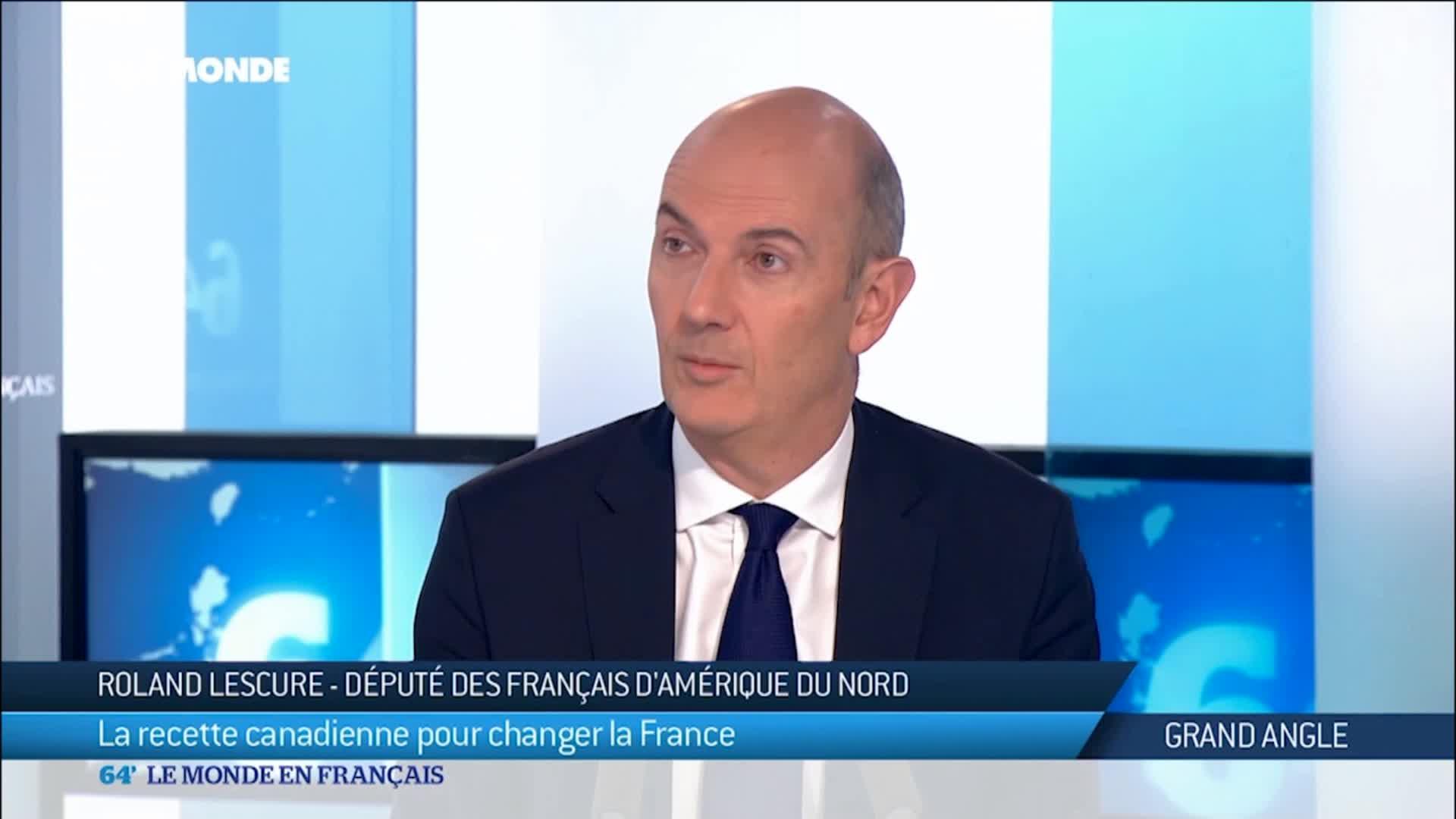 Roland Lescure : la recette canadienne pour changer la France