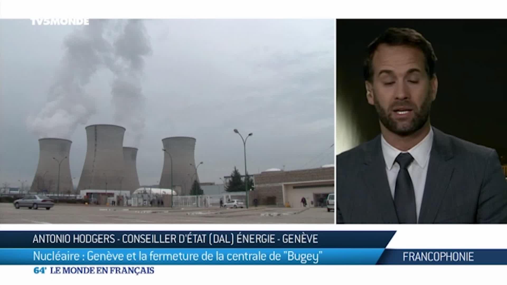 La centrale de Bugey menace-t-elle la Suisse ?