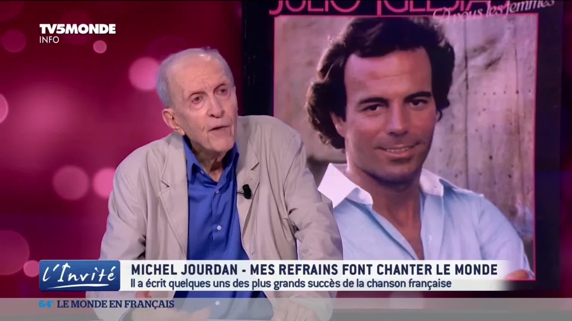 Michel Jourdan, le parolier qui fait chanter le monde