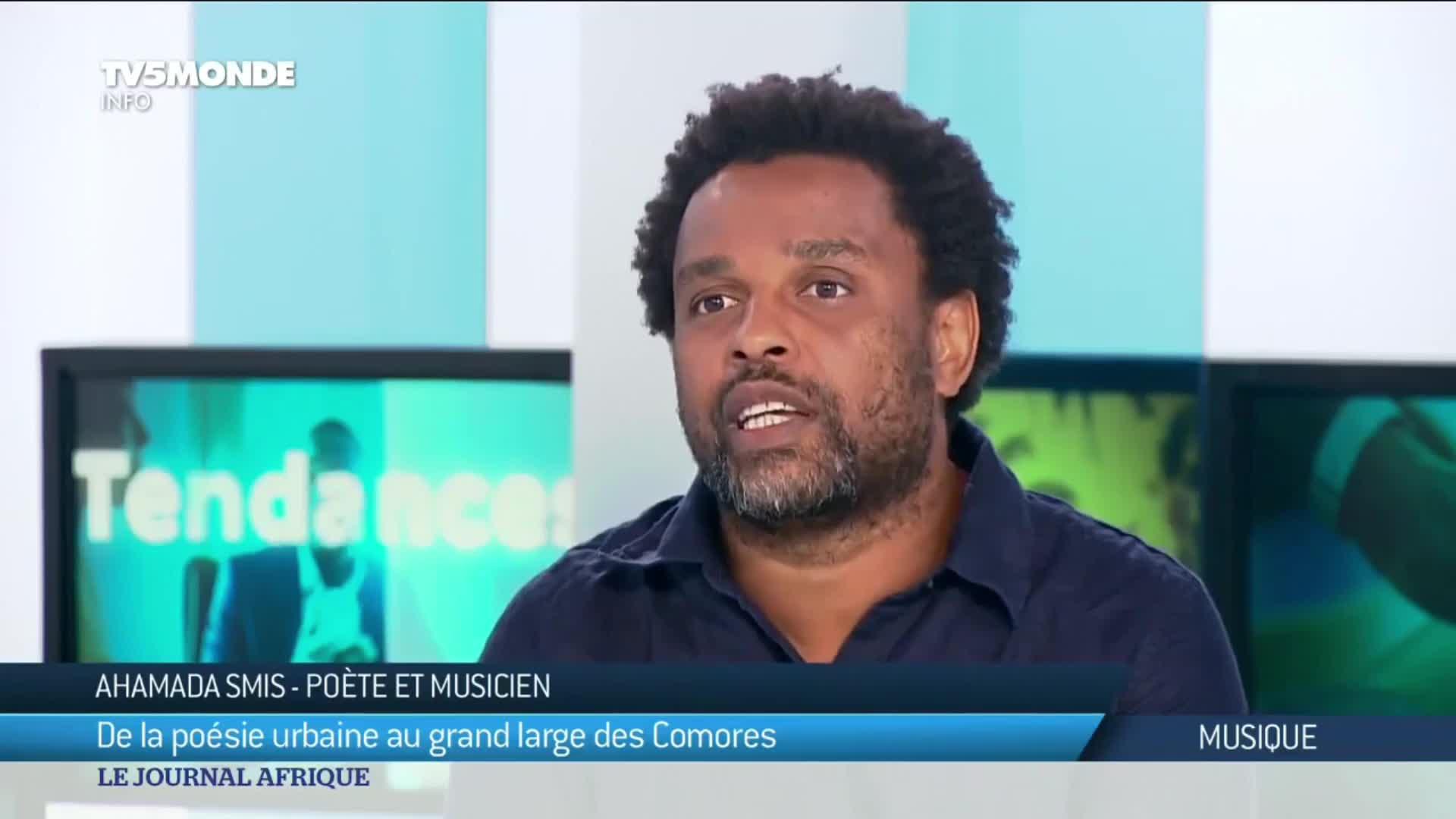 Ahamada Smis, poète urbain des Comores