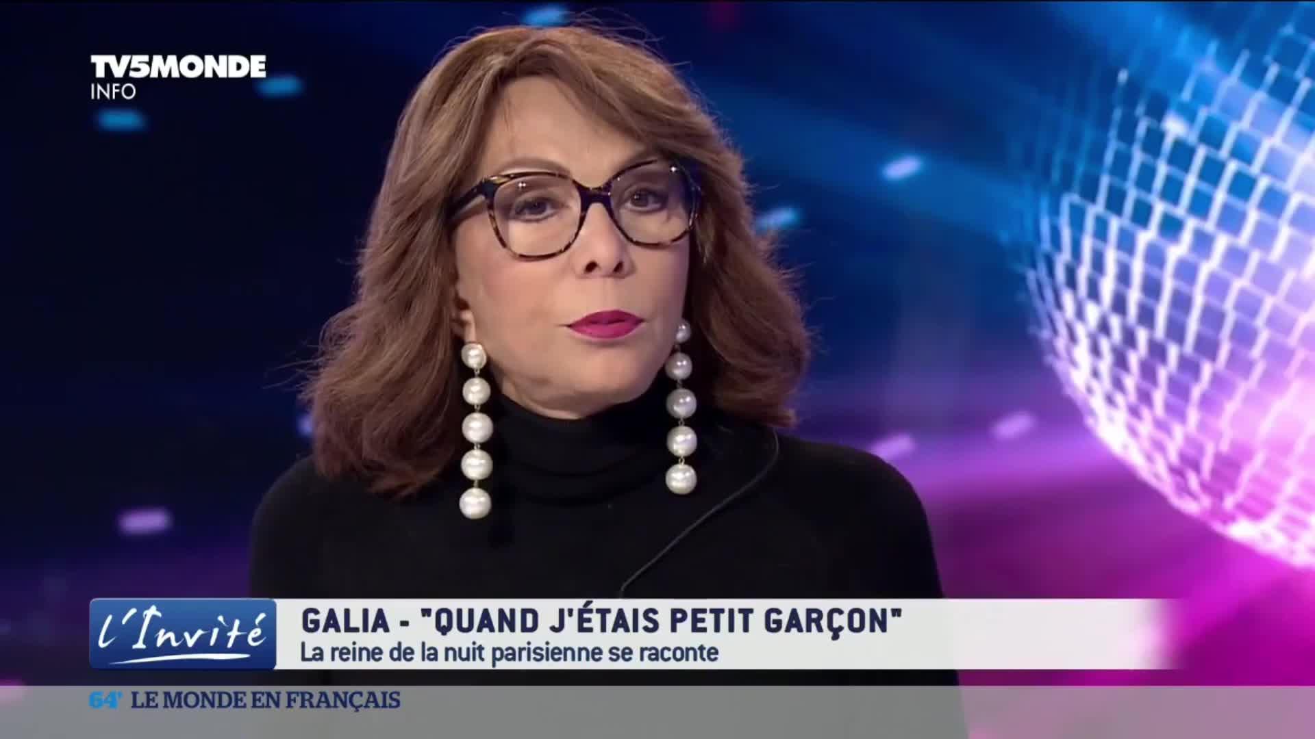 Galia, figure des nuits parisiennes, se raconte