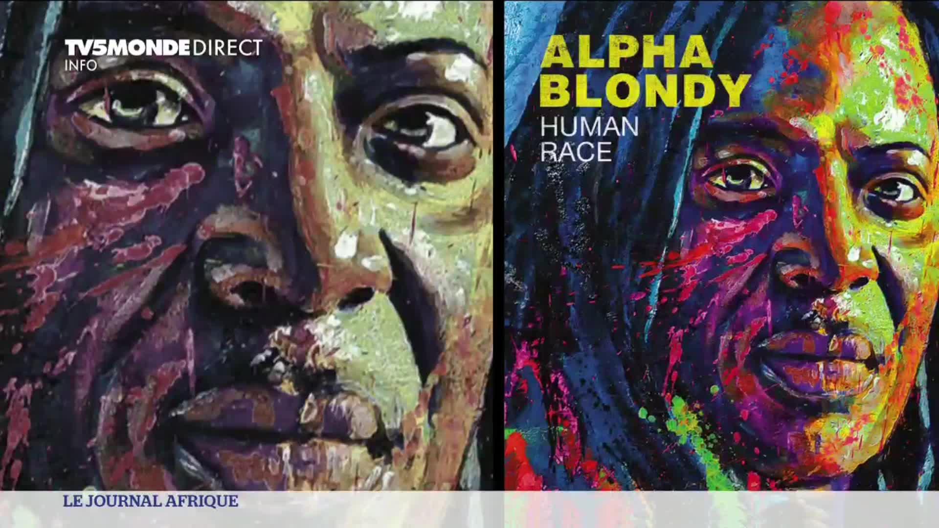 Alpha Blondy sort son album «Human Race»